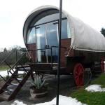 glamping wagon