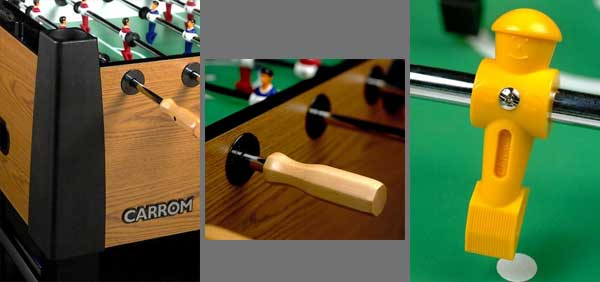 Carrom 530.00 Signature Foosball Table details