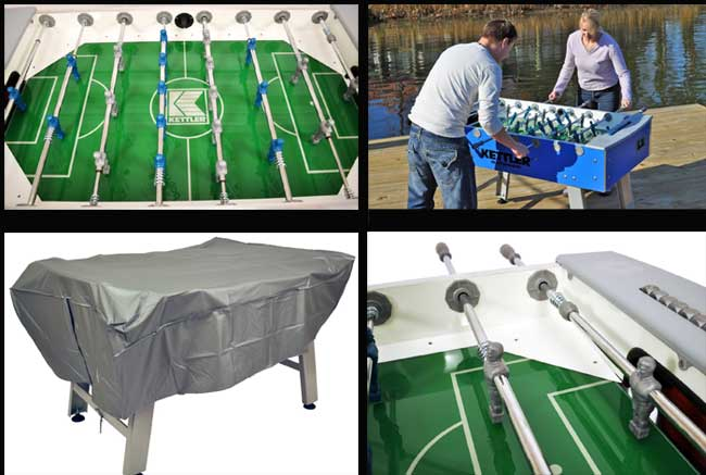 kettler foosball table