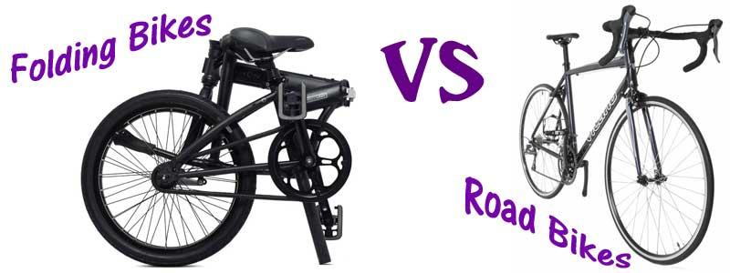 folding vs road bikes