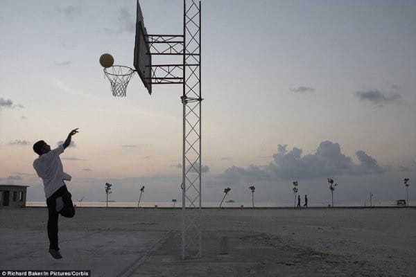 maldives basketball