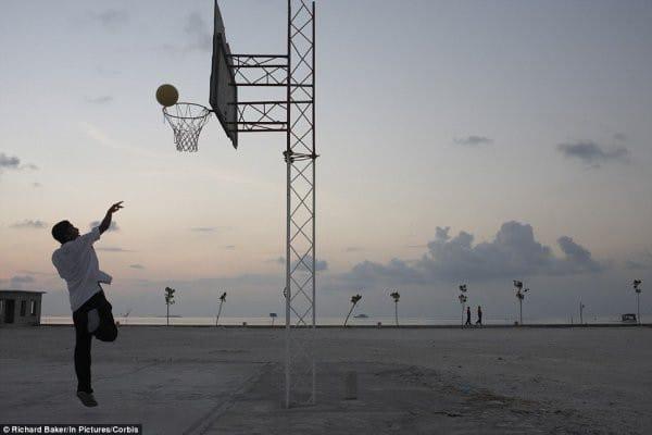 maldives basketball