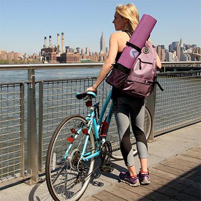 yoga mat backpack
