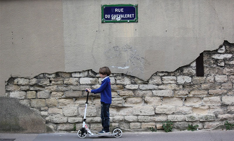 paris scooter