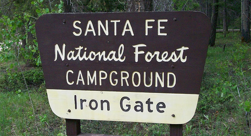 irong gate campground new mexico