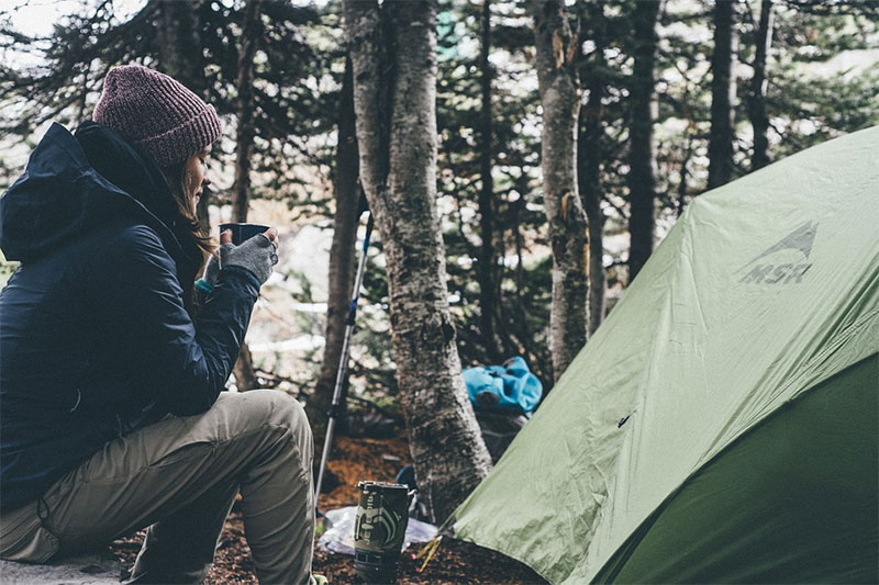 camping delaware
