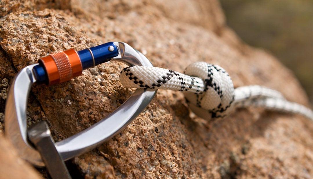 rock climbing carabiner