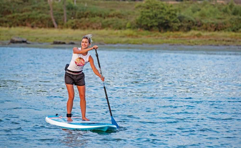 woman on BIC Sport SUP
