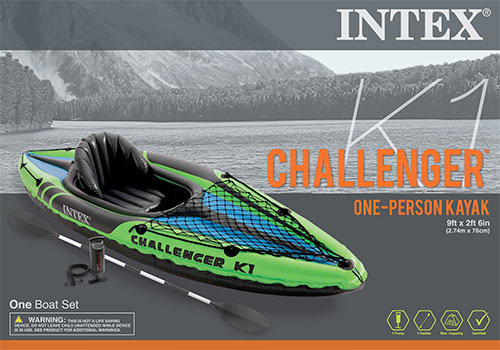 Intex - Challenger K1 Kayak