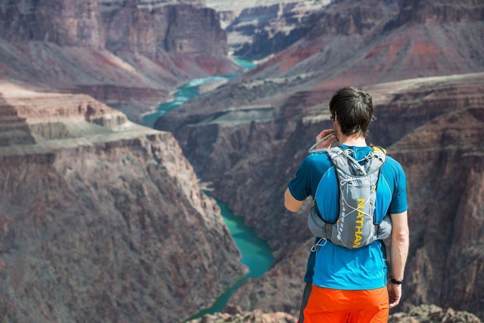trail runner Grand Canyon