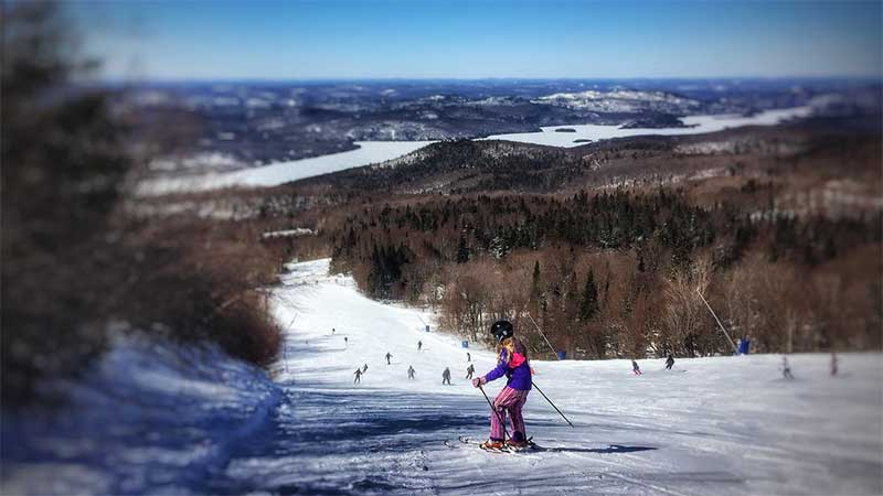 Skiing - Mont Tremblant, Quebec