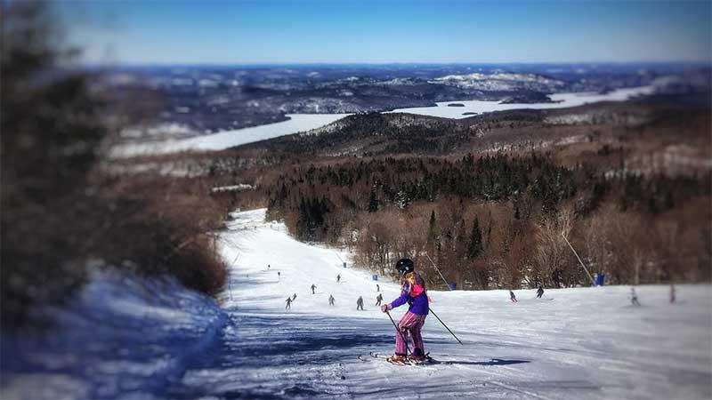 Skiing - Mont Tremblant, Quebec