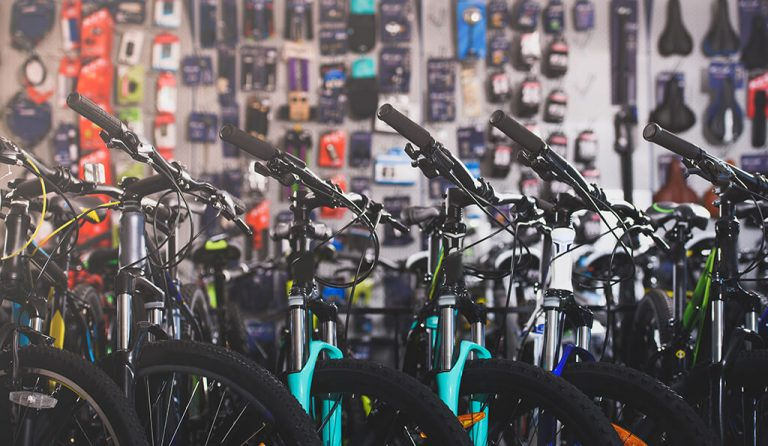 bikes for sale in shop