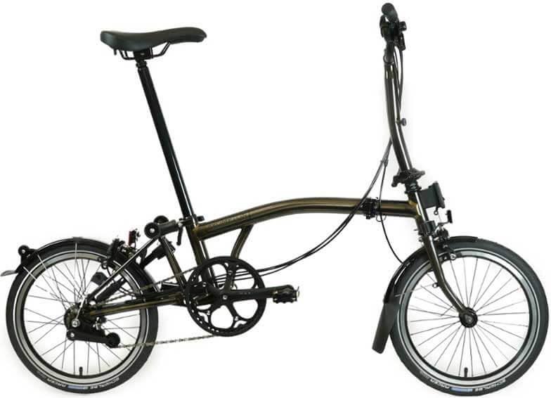 Brompton M6L Black Edition Folding Bike