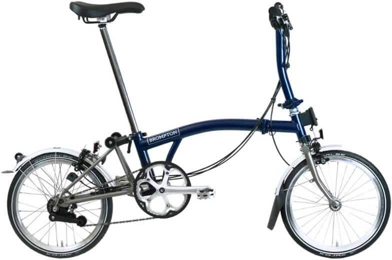 Brompton S6L-X Folding Bike