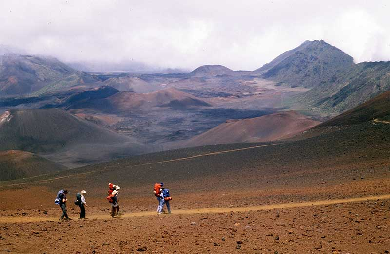 Haleakala Sliding Sand Trail vista