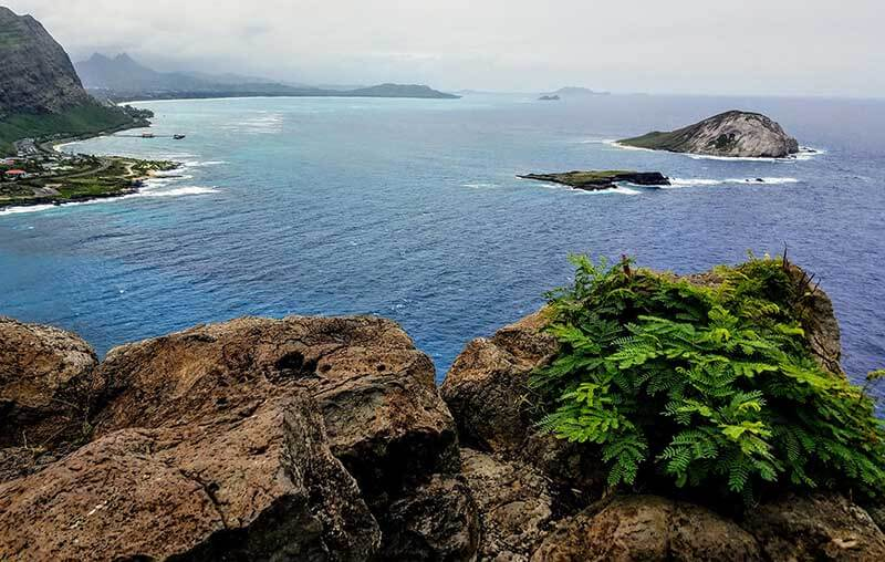 Mokulua islands Lanikai Pillbox Hike