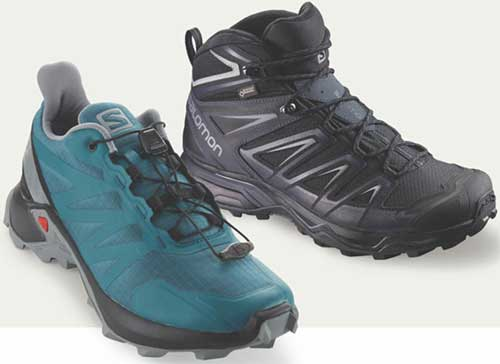 salomon outdoor footwear