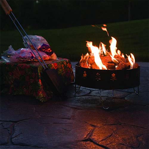 camping fire pit