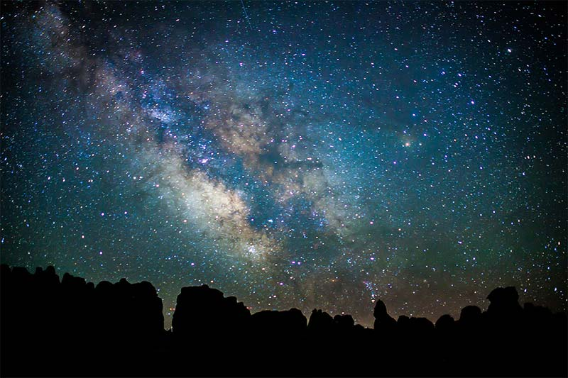 milky way chester park canyonlands