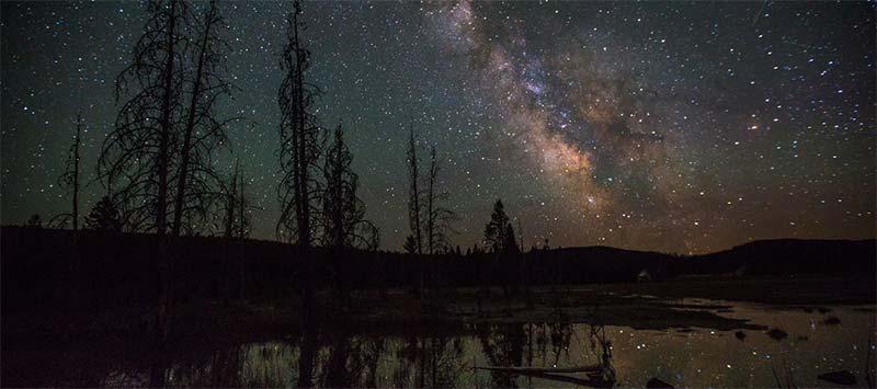 yellowstone stargazing