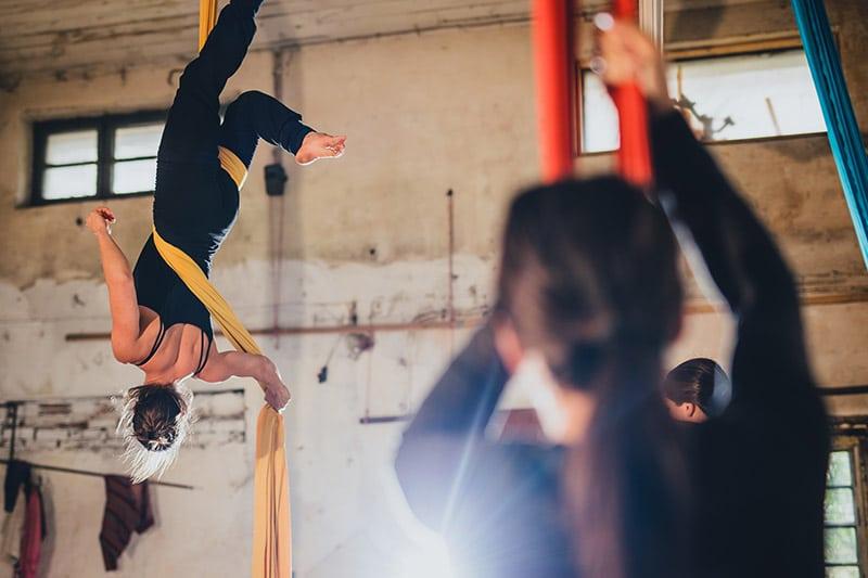 aerial silks class