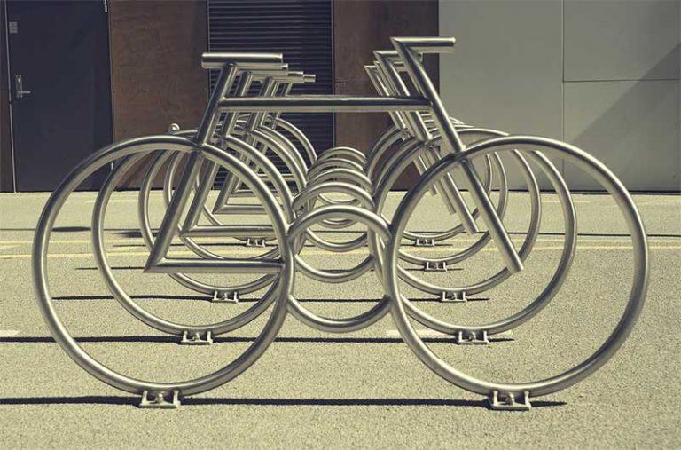 city bike rack