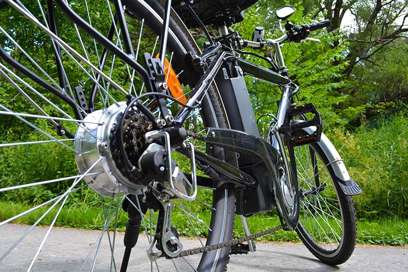ebike in park