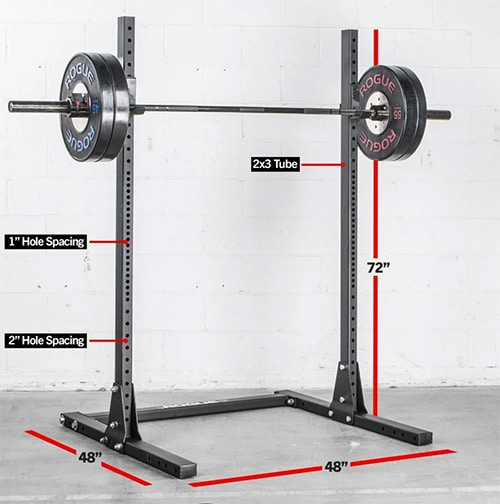 ROGUE S-1 SQUAT STAND