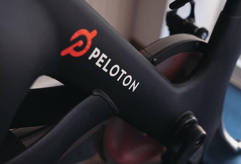 peloton bike closeup