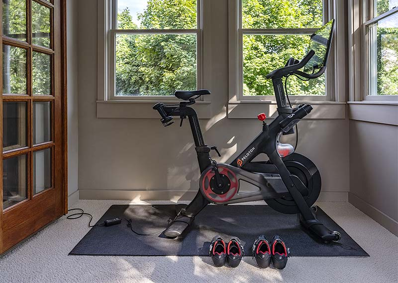 peloton bike in home