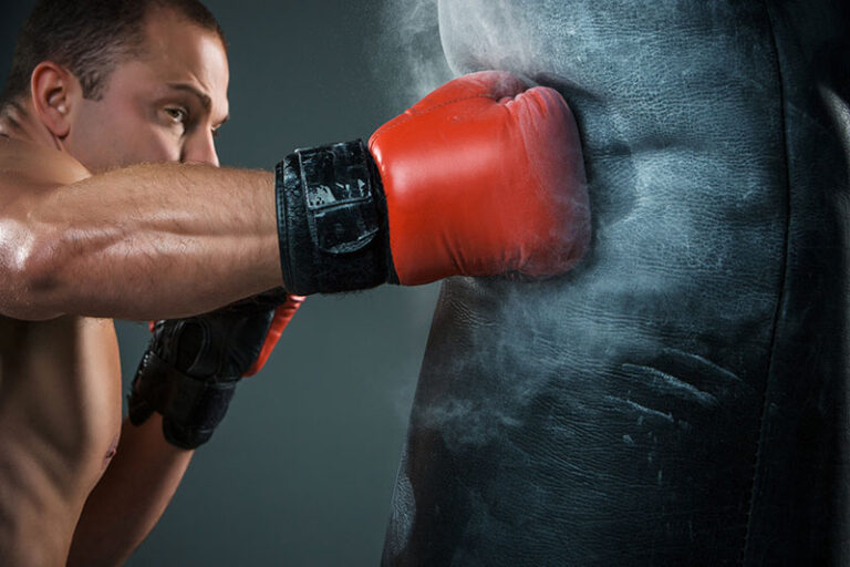 guy boxing