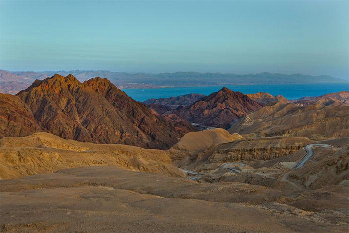 Approaching Eilat