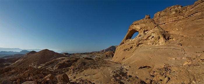 Sandstone Arches at Timna