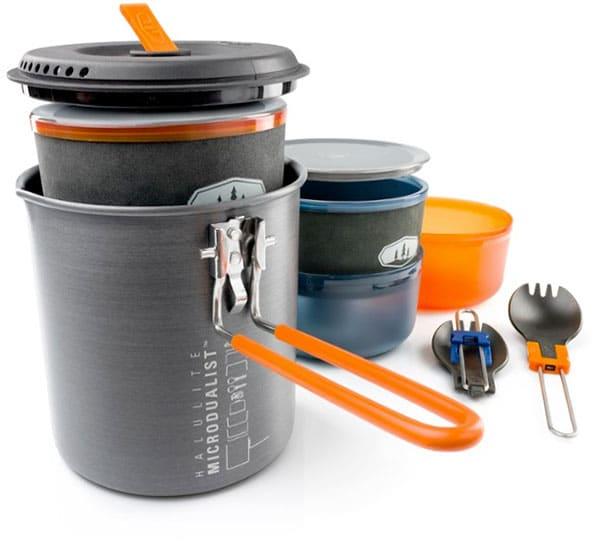 GSI Outdoors Halulite Microdualist II Cookset