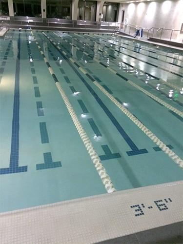 equinox indoor salt water pool