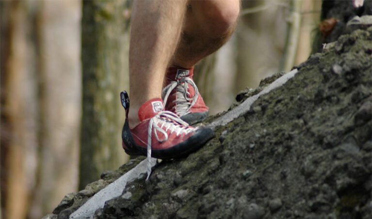 red rock climbing shoes