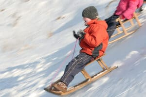 fast sledding