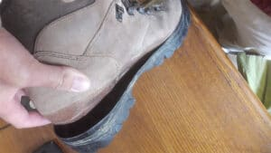 hiking boot sole separation