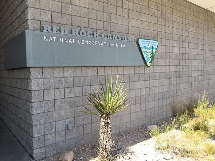red rock canyon visitors center las vegas