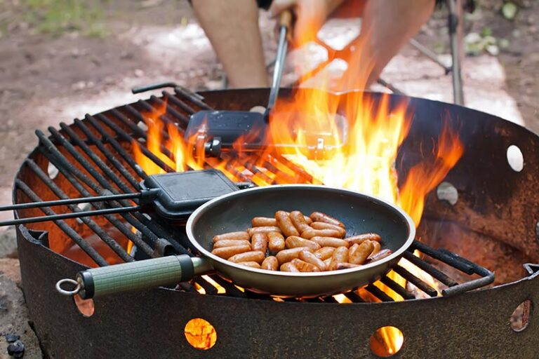 pie iron campfire cooking