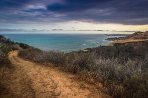 corral canyon trail malibu scenic ocean view