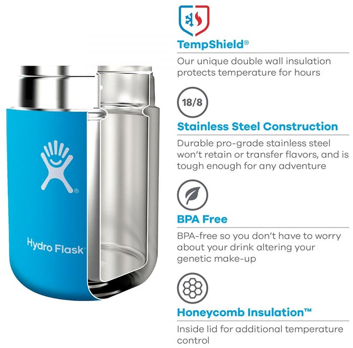 Hydroflask thermos spexs