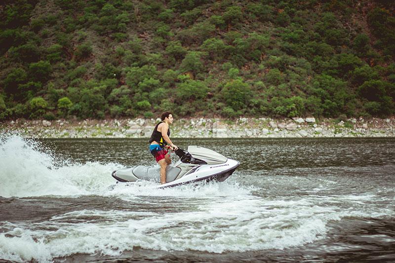 guy on jet ski in lake