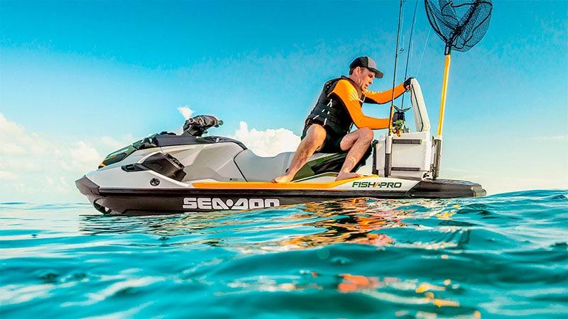 sea doo fishing jet ski