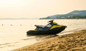jet ski at beach