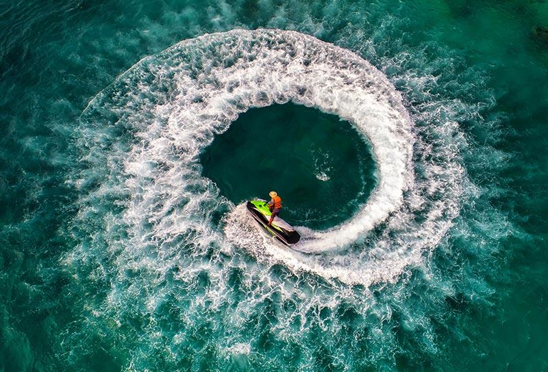 person on jet ski