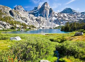 Rae Lakes Creek in Kings Canyon National Park, within the Sequoia-Kings Canyon biosphere reserve