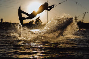 wakeboarding trick