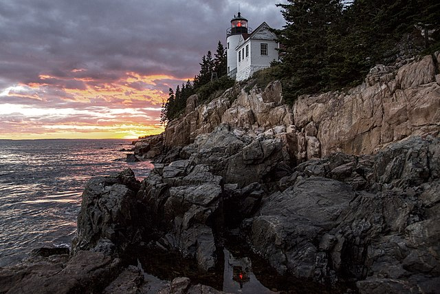 bass harbor lighthouse acadia